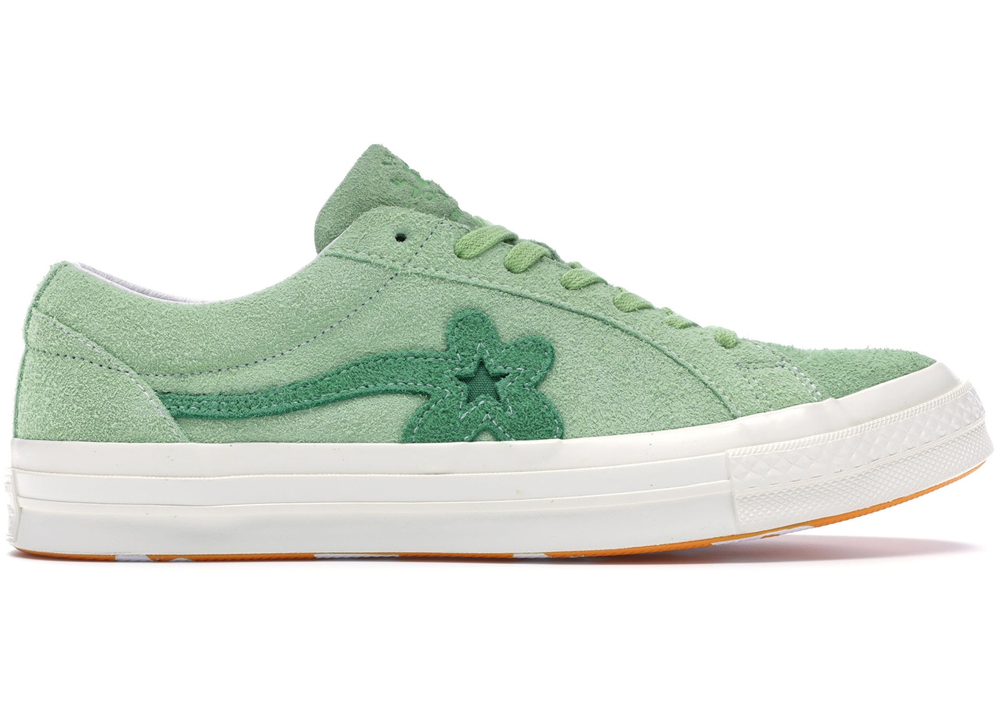 94e66f1ad394 Converse One Star Ox Tyler the Creator Golf Le Fleur Jade Lime - 160327C