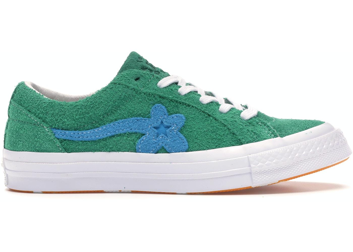 Converse One Star Ox Tyler The Creator Golf Le Fleur Jolly Green 160322c
