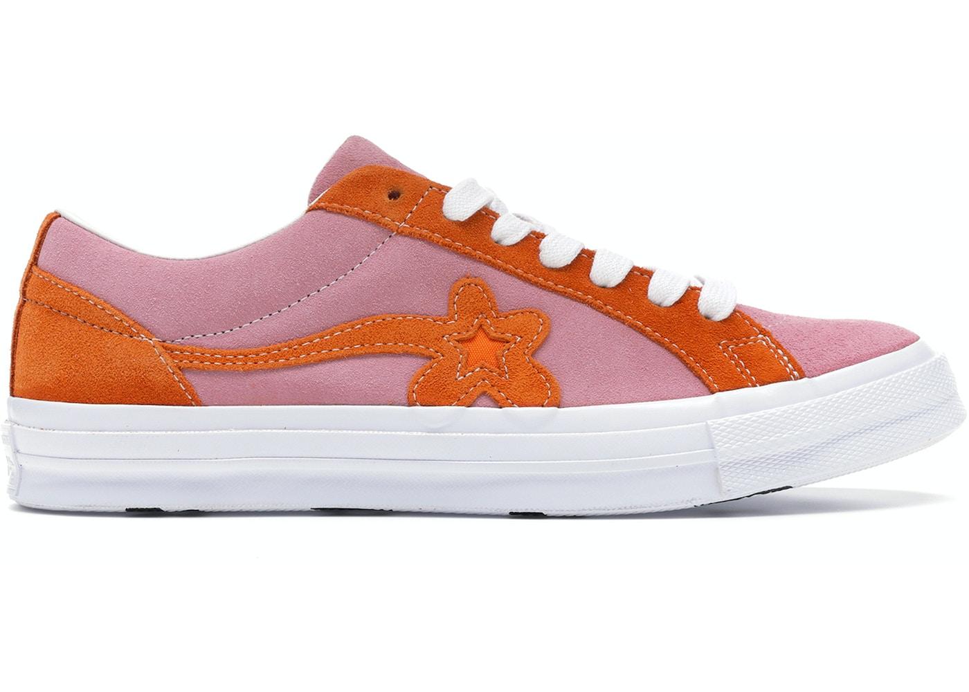 Converse One Star Ox Tyler The Creator Golf Le Fleur Pink Orange 162125c