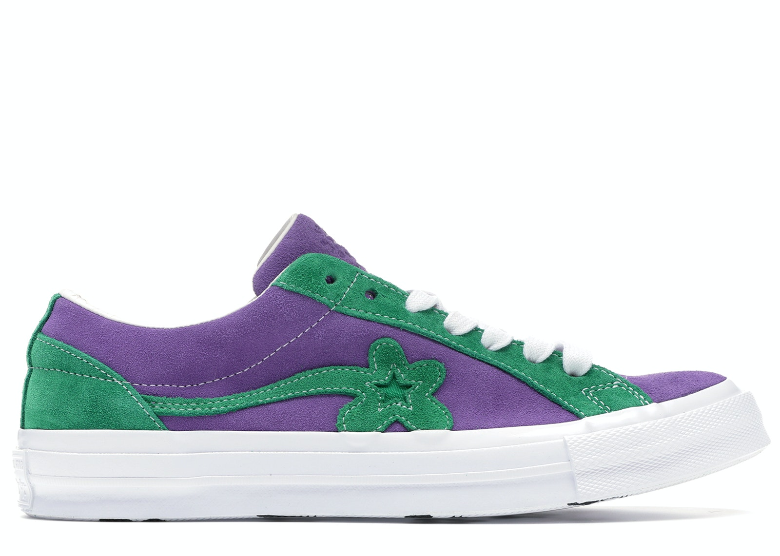 Converse One Star Ox Tyler the Creator Golf Le Fleur Purple Green