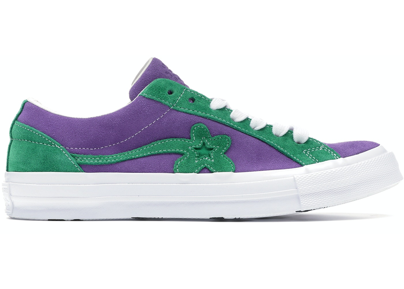 Converse One Star Ox Tyler the Creator Golf Le Fleur Purple Green - 162128C 93e2dcf26