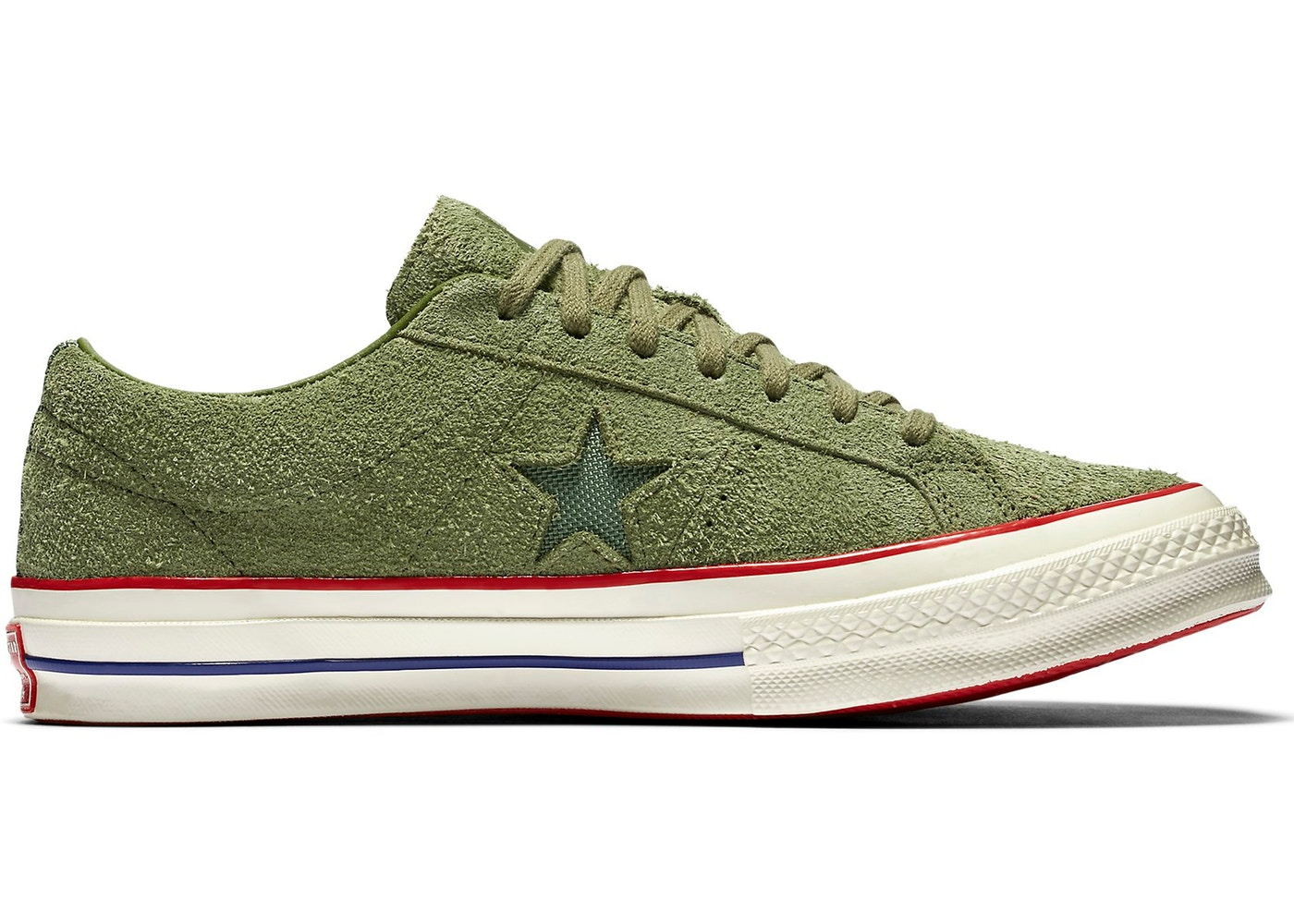 cdae70a53004 Converse One Star Ox Undefeated Olive - 158894C