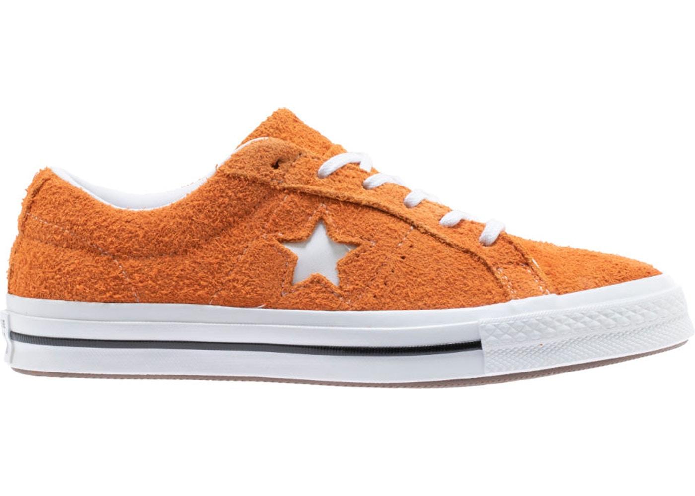Converse One Star Ox Vintage Suede Bold Mandarin
