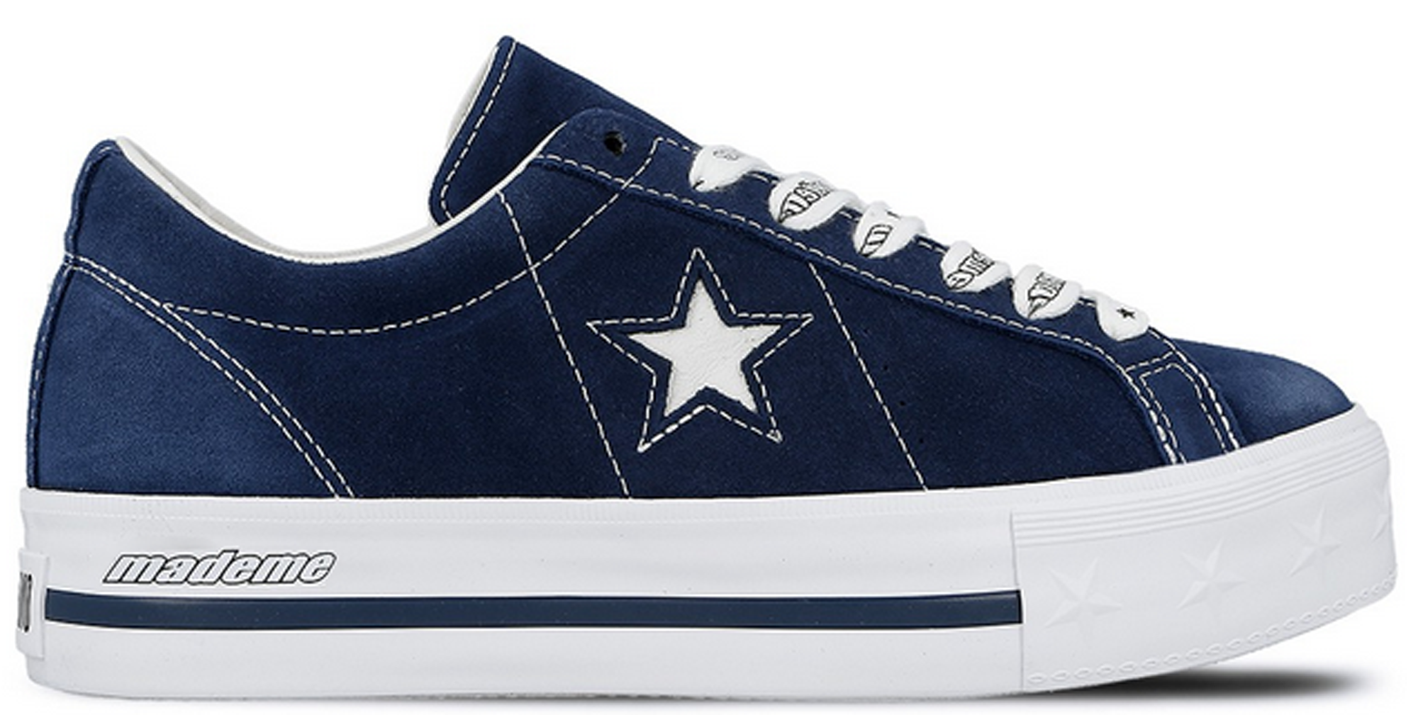 Converse One Star Platform Ox MadeMe Medieval Blue (W)