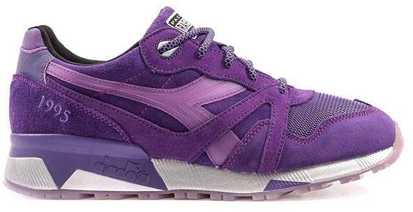 """Diadora N9000 Packer Shoes x Raekwon """"Purple Tape"""""""