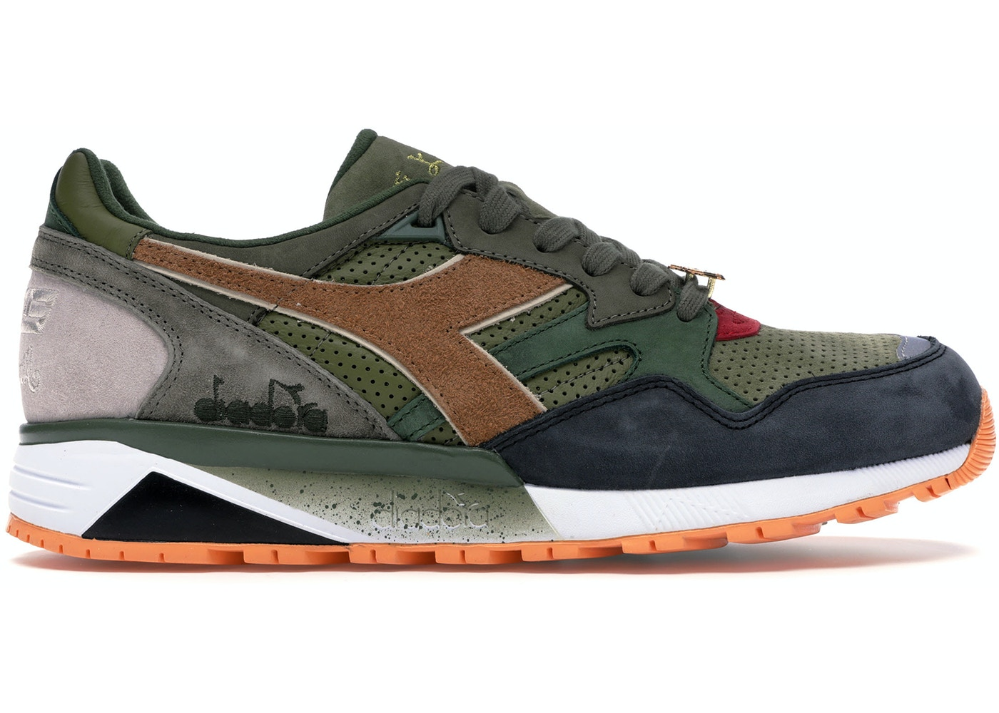 brand new 29eaf 847c6 Diadora N9002 24 Kilates x mita x Mighty Crown Respect Over Hate