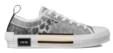 Dior B23 Low Top Grey Leopard