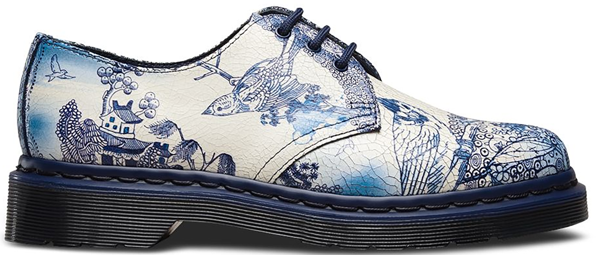 Dr. Martens 1461 Willow Cristal Suede