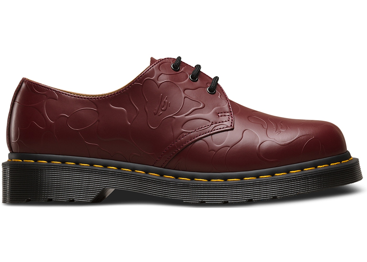 Dr. Martens 3 Eye Bape Oxblood by Stock X