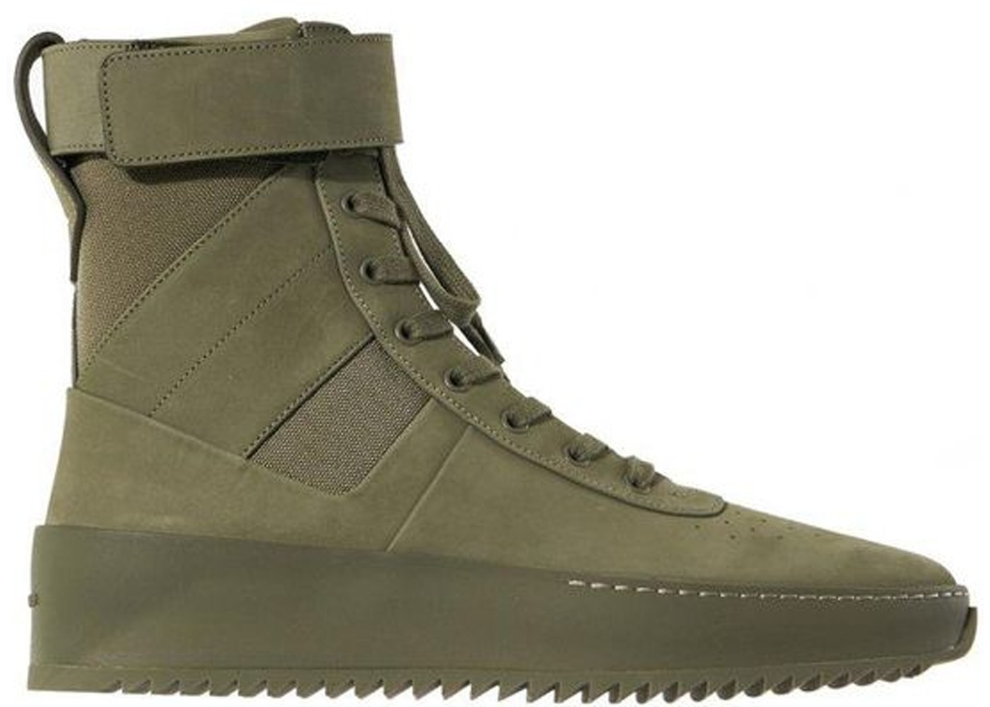 new concept 4fd58 19a2a Fear Of God Military Sneaker Army Green - FGTP-MSNU-AG16