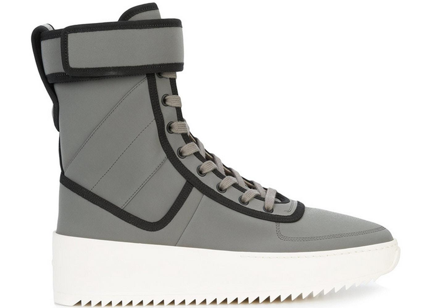 ba72088d888a Fear Of God Military Sneaker Grey Black - FG03S18U-20FNFG9499