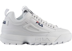 Fila Disruptor 2 White Navy Red