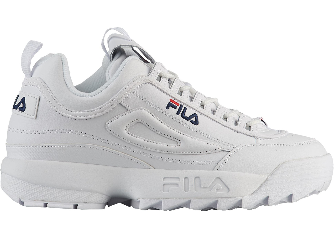 866a4db28a65 Fila Disruptor 2 White Navy Red - M0013912 FW01655-111