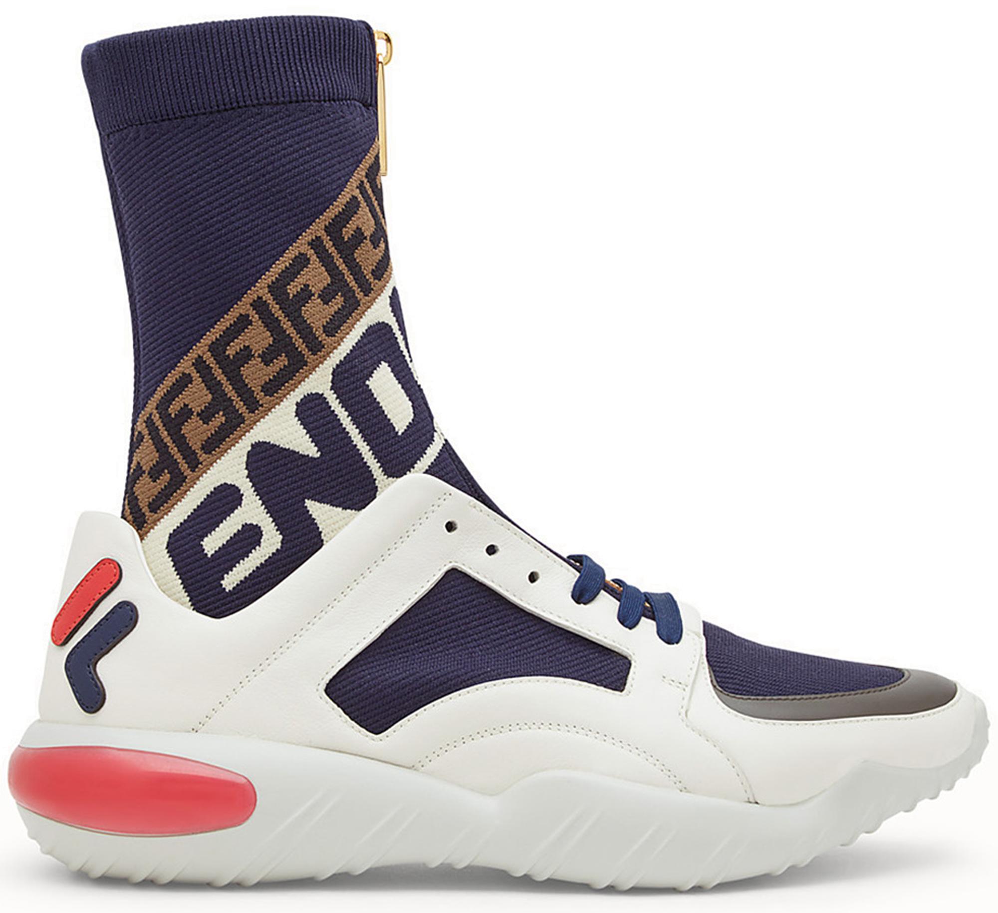 fendi sneakers high top