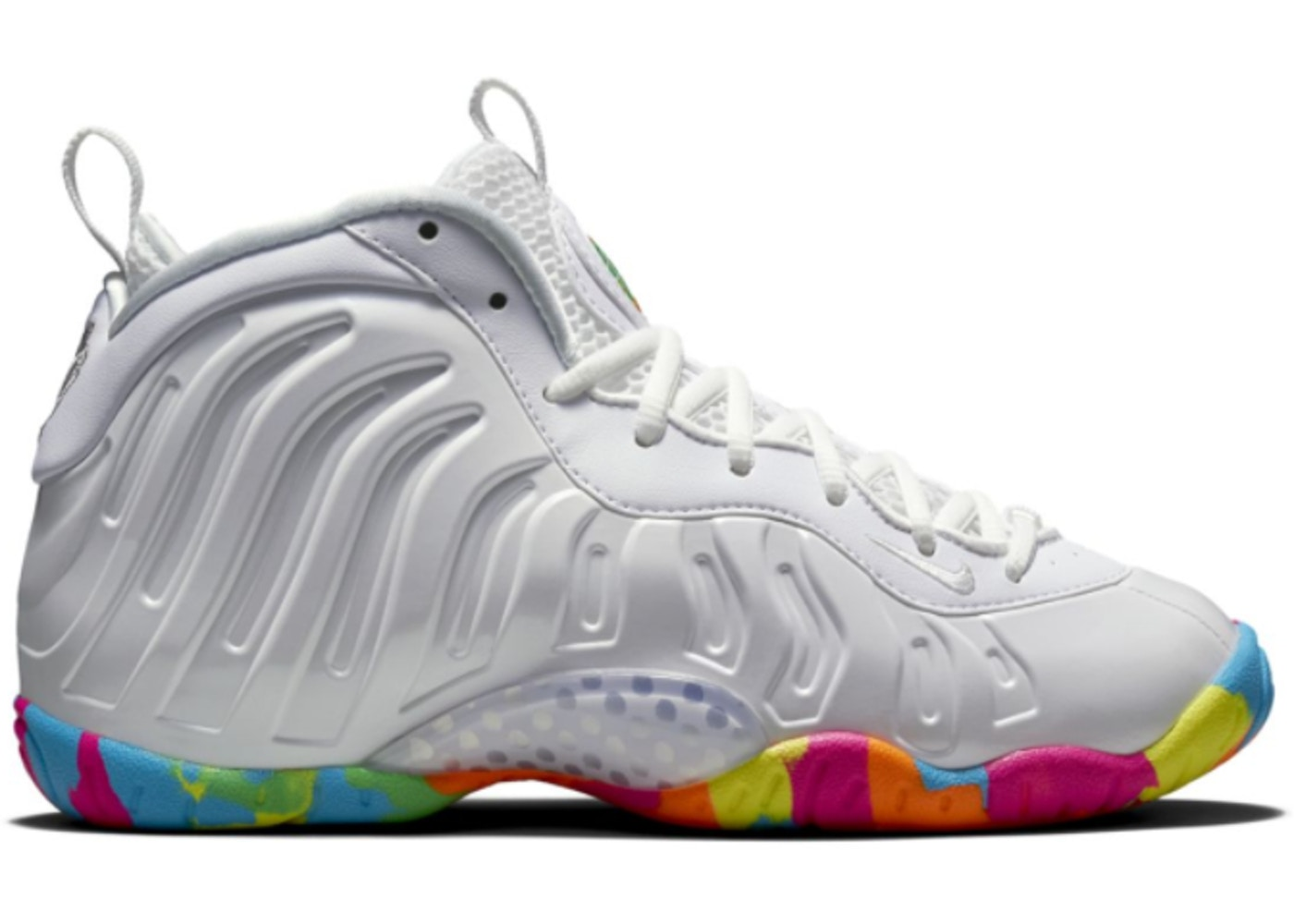 best sneakers dd69a 7addd Air Foamposite One White Fruity Pebbles 2015 (GS)