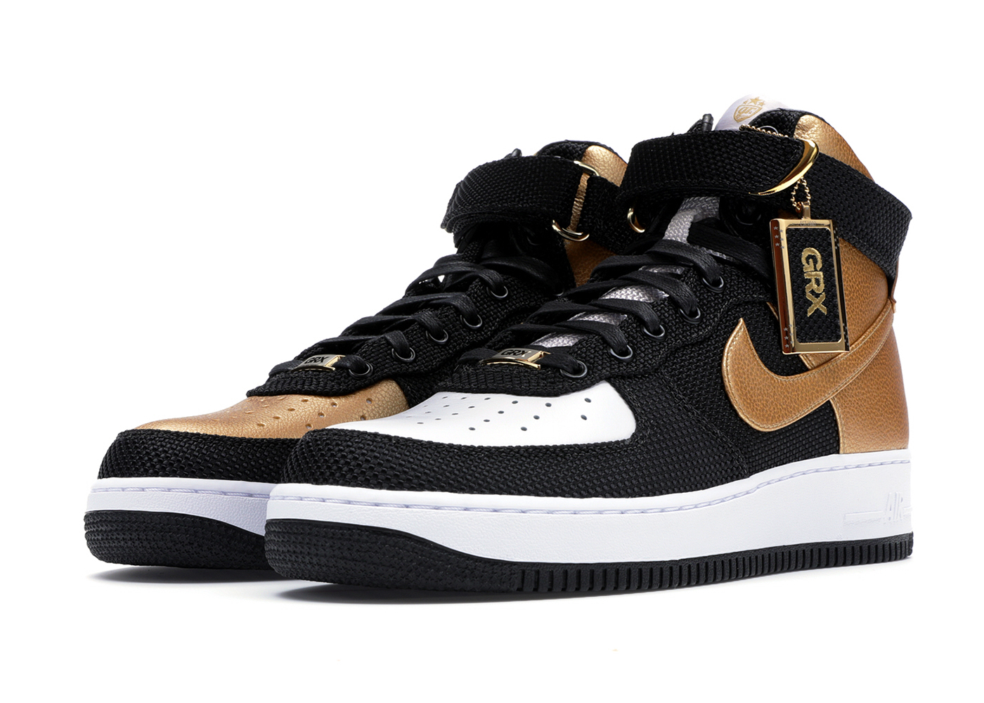 "official photos f7376 6cd94 Nike Bespoke iD Air Force 1 Highs ""goldRush Rally Top 10s"" ..."