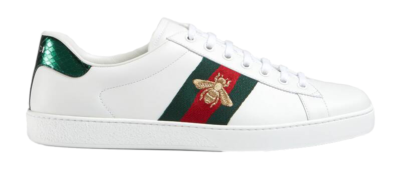 Gucci Ace Bee In White