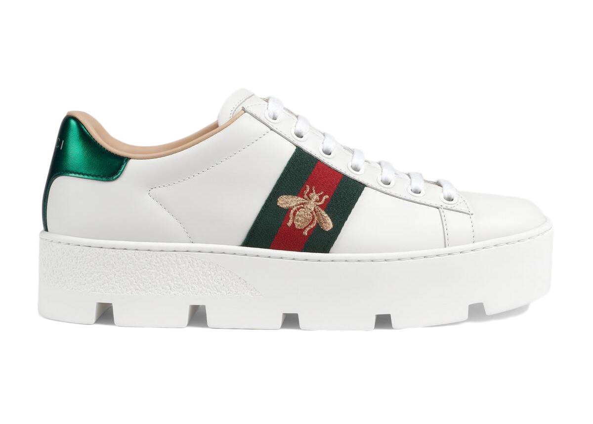 Gucci Ace Platform White - 577573 DOPE0