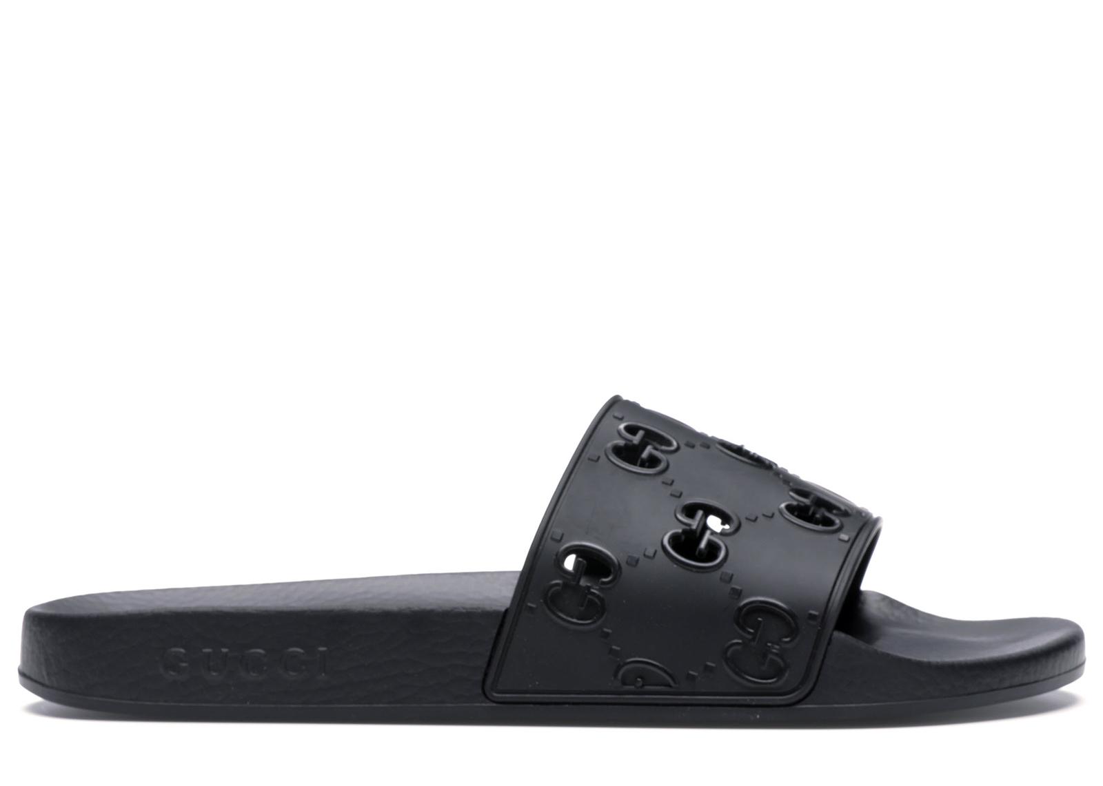 Gucci GG Slide Rubber Black - 575957