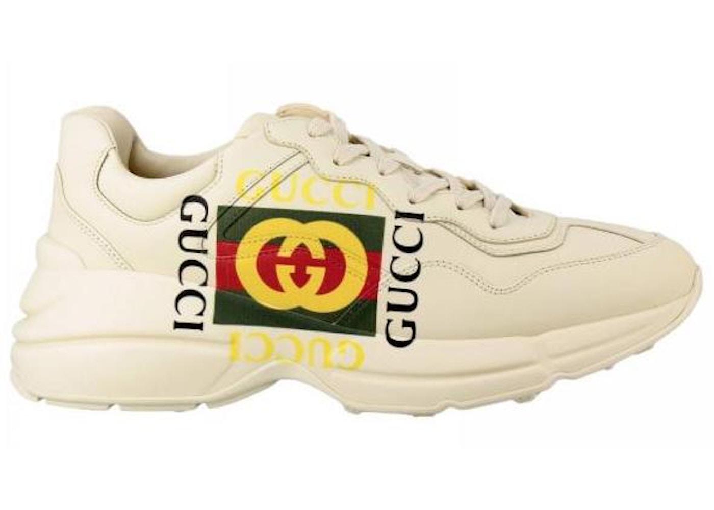 304b844f3 Gucci Rhyton Logo Ivory - 500878 DRW00 9522