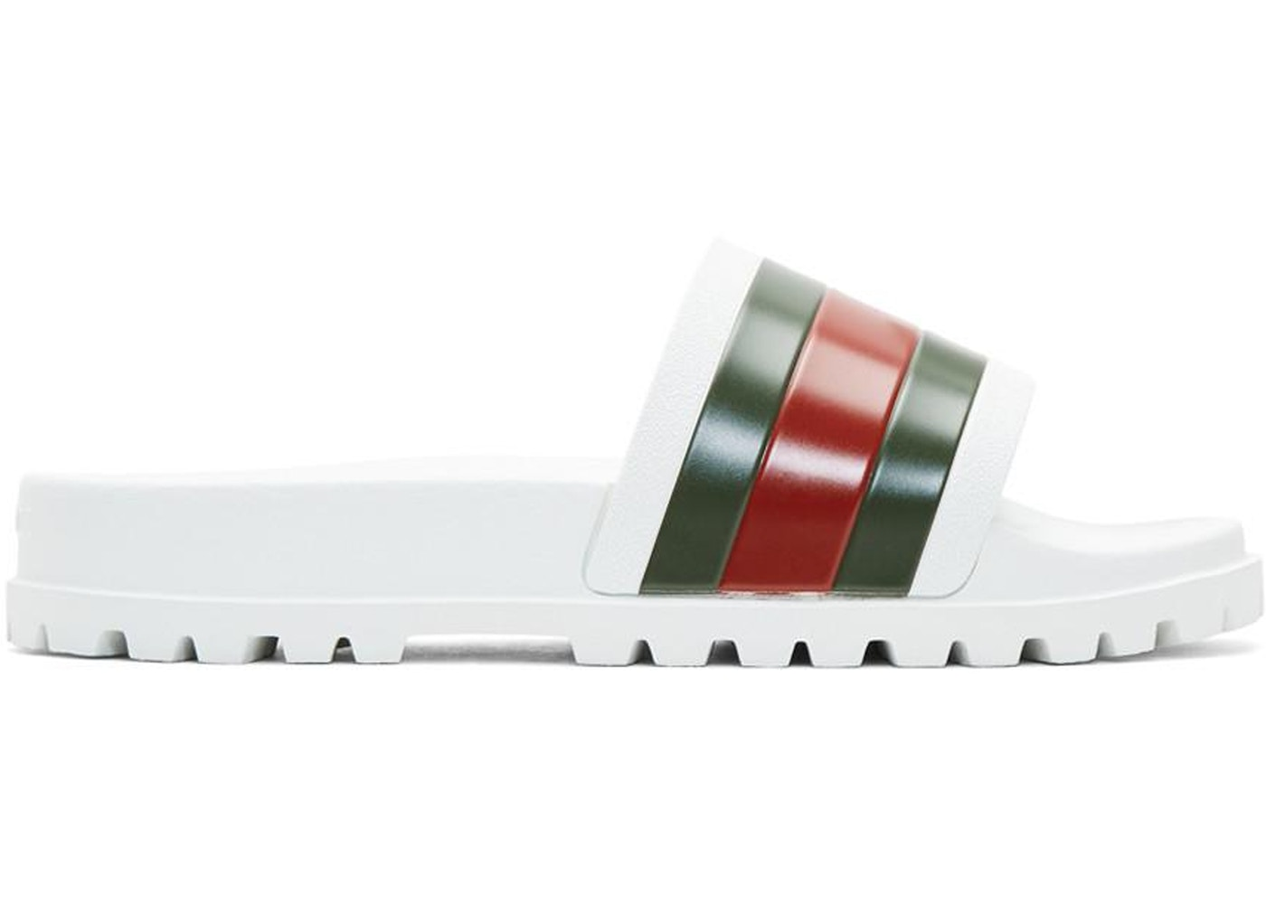 8b3c14fdc Sell. or Ask. Size: 12. View All Bids. Gucci Web Slide Sandal White
