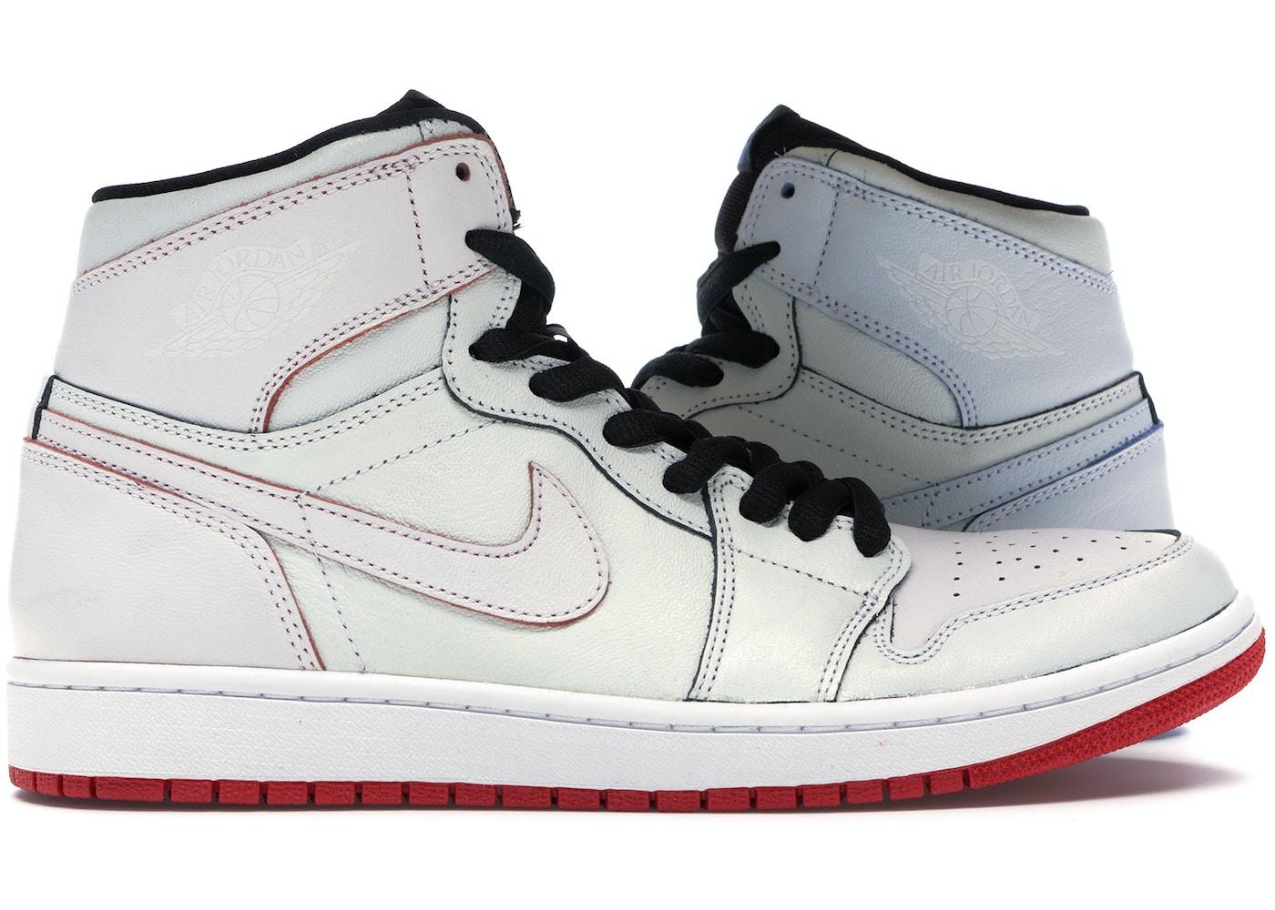 on feet at online store separation shoes Jordan 1 SB Lance Mountain White