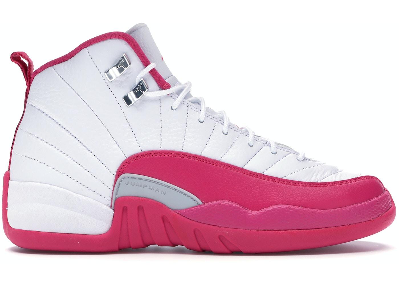 79596c257c6f Jordan 12 Retro Dynamic Pink (GS) - 510815-109
