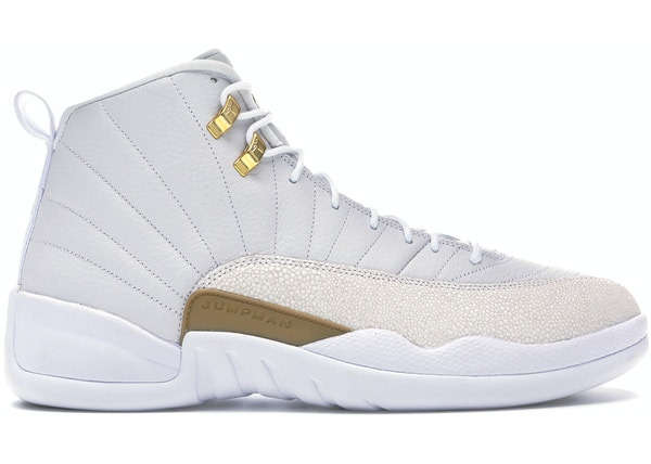 best website 82196 0e268 Jordan 12 Retro OVO White