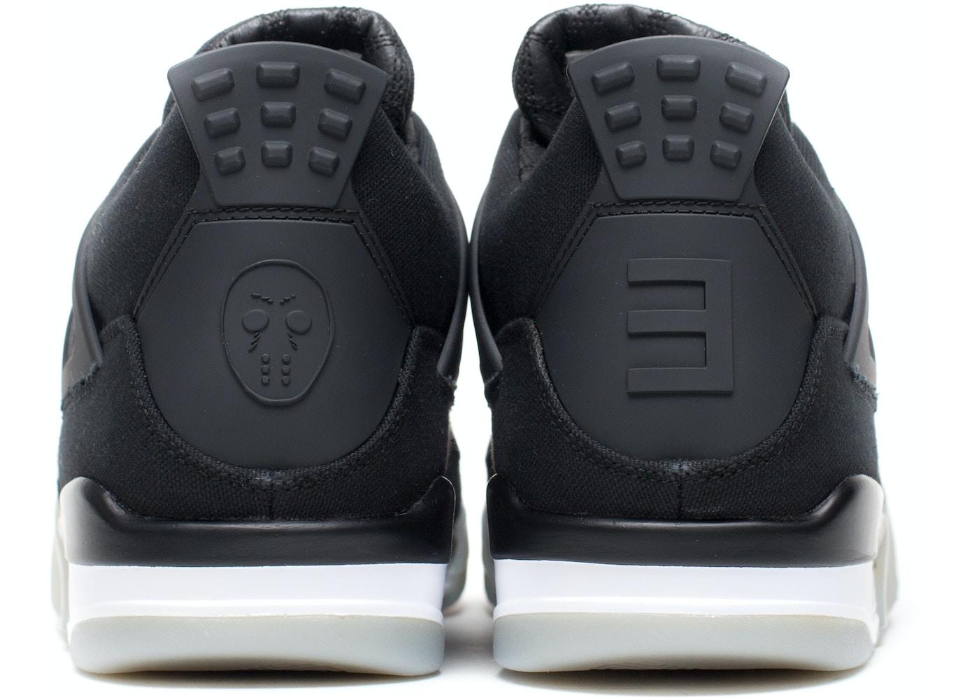 online retailer f3ada 539ec Jordan 4 Retro Eminem Carhartt Signed Box (sz 10.5)