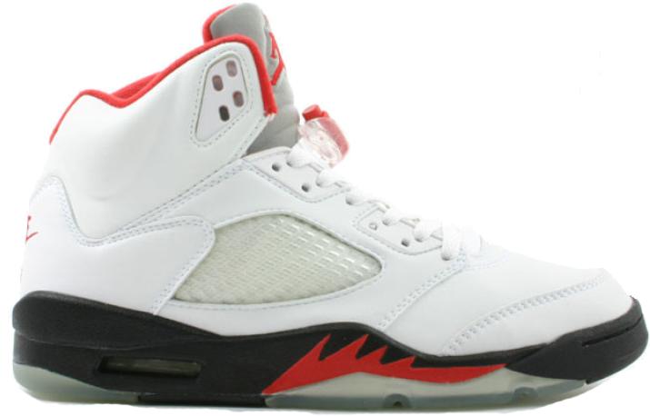 Jordan 5 Retro Fire Red (2000) - 136027-101