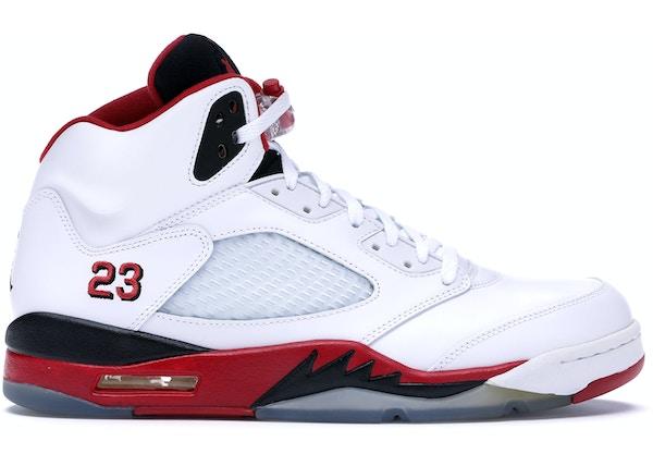 07bec375f865 Jordan 5 Retro Fire Red Black Tongue (2013) - 136027-120