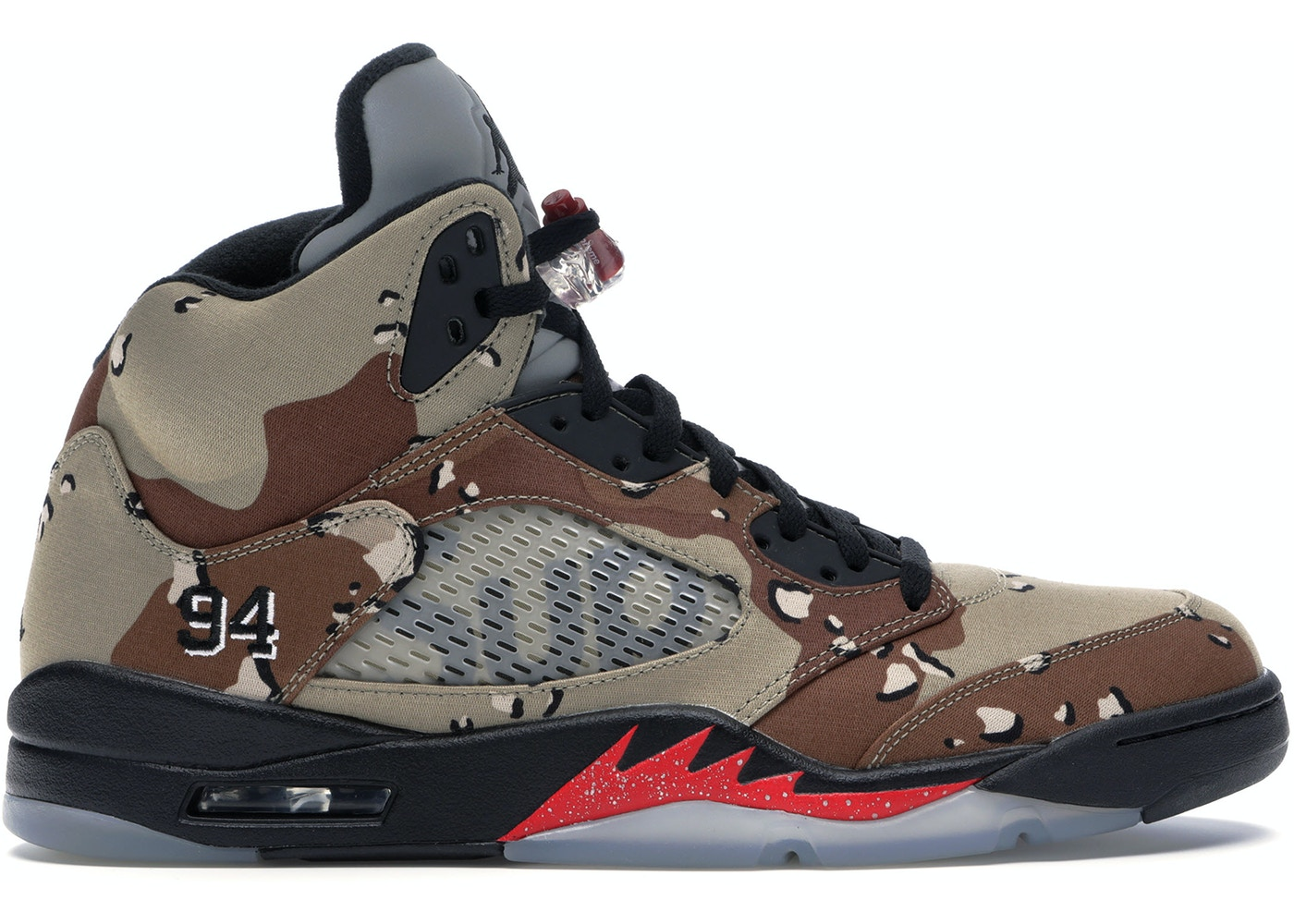 super popular 8f2b8 65484 Jordan 5 Retro Supreme Desert Camo - 824371-201