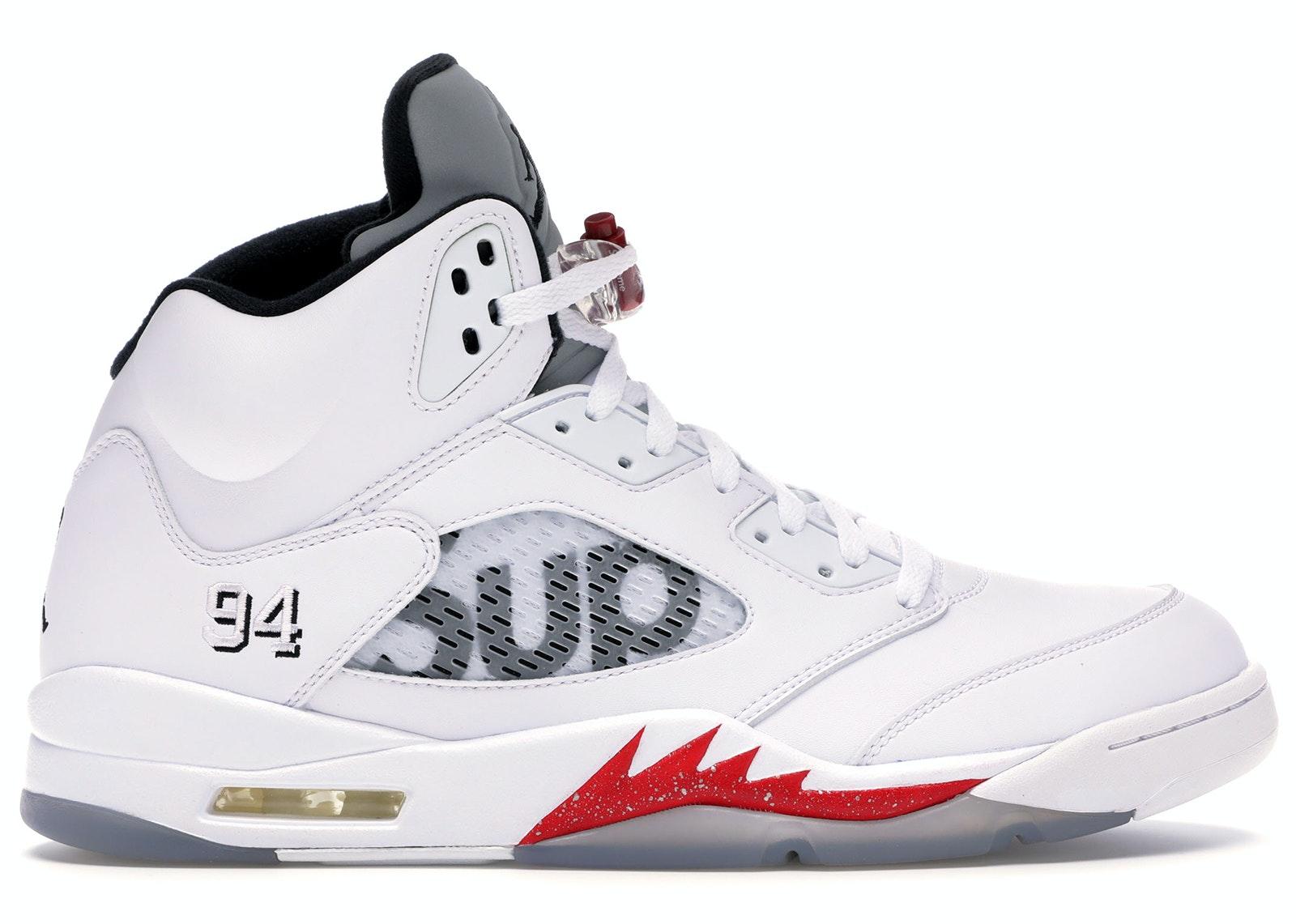 Jordan 5 Retro Supreme White