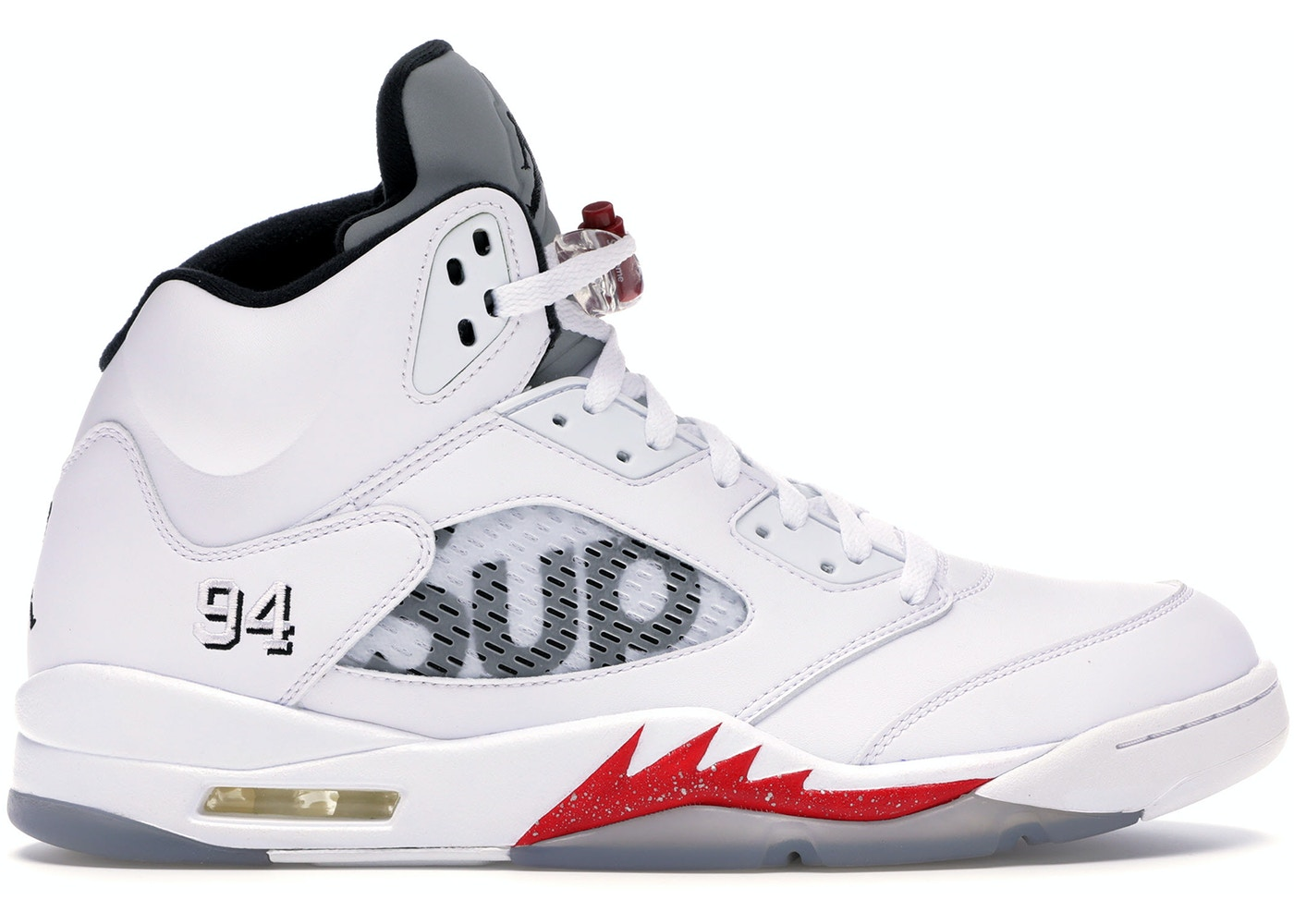 uk availability da9a8 70425 Jordan 5 Retro Supreme White - 824371-101