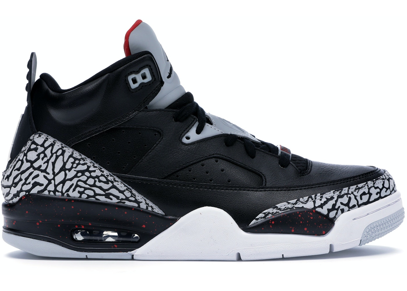 ea9ff0bc62d Jordan Son of Mars Low Black Cement - 580603-002