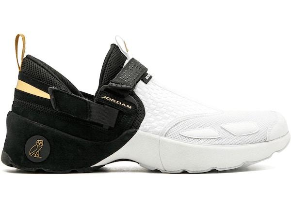 on sale aeef2 1c9c6 Jordan Trunner LX OVO Black White