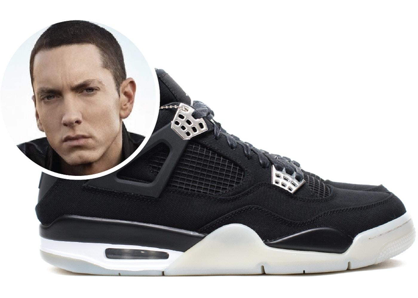 2cbe5e7384e Jordan 4 Retro Eminem Carhartt Signed Box (sz 10.5)