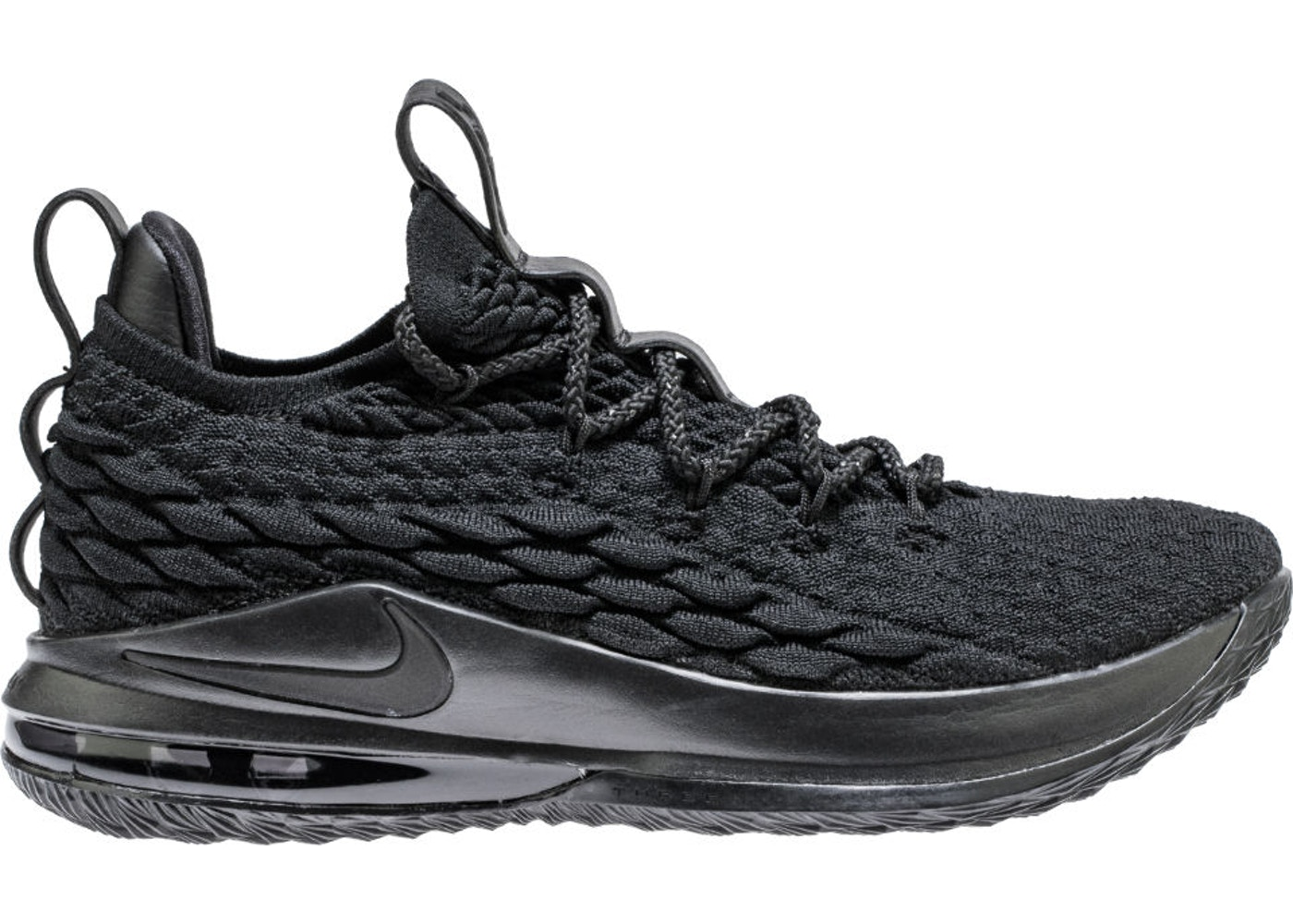 new arrival 32914 0f7d8 LeBron 15 Low Blackout