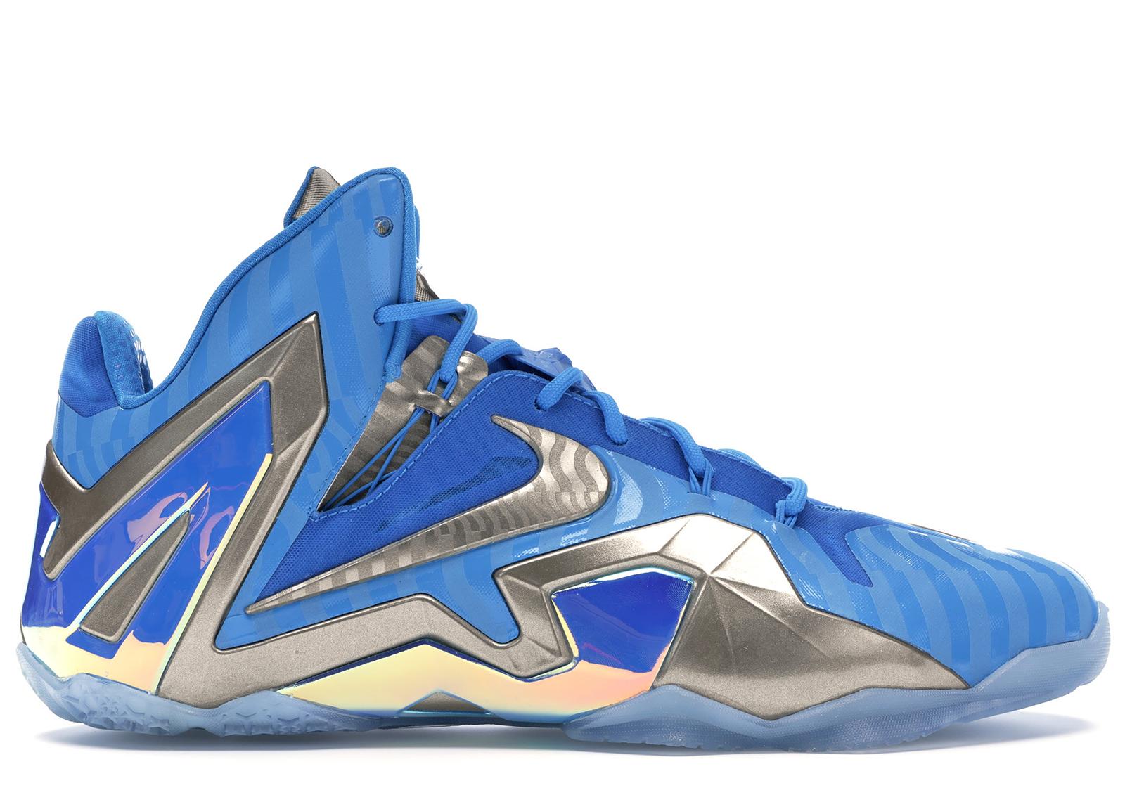 Nike LeBron 11 Elite Maison 3M Blue