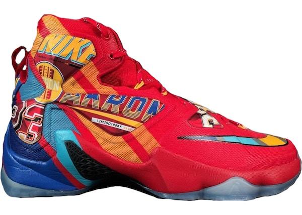 b29e3a1fd0c Nike LeBron 13 Shoes - Average Sale Price