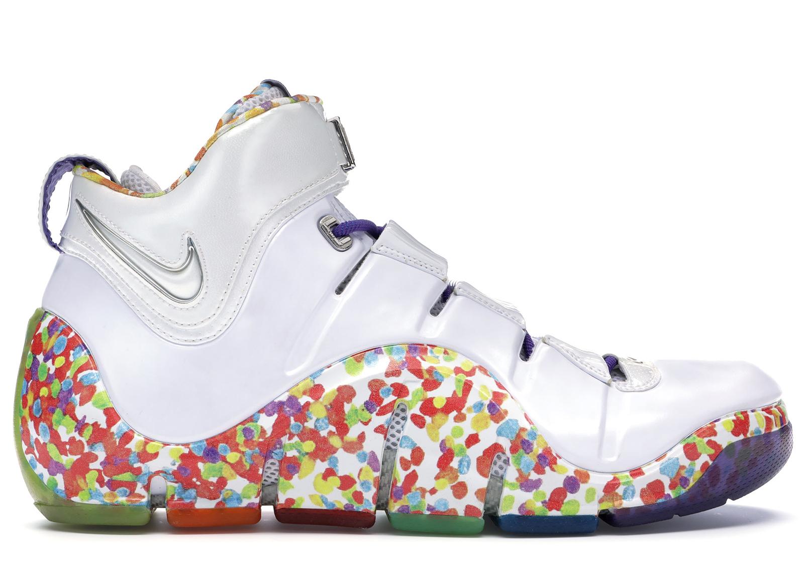 Nike LeBron 4 Fruity Pebbles - PE