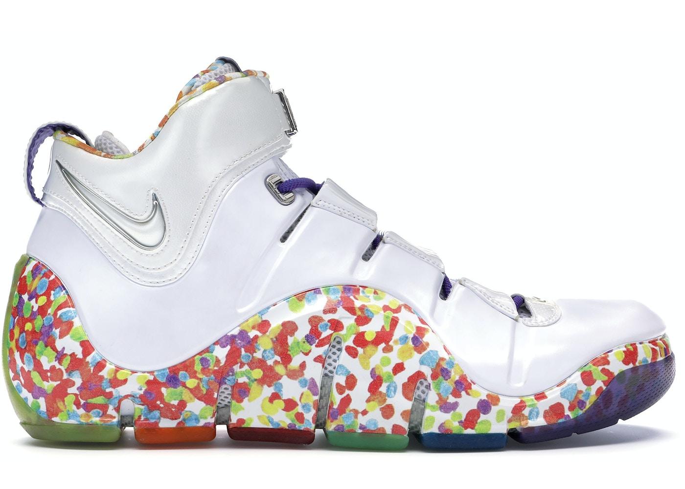 Diventa freddo mensola  Nike LeBron 4 Fruity Pebbles - PE