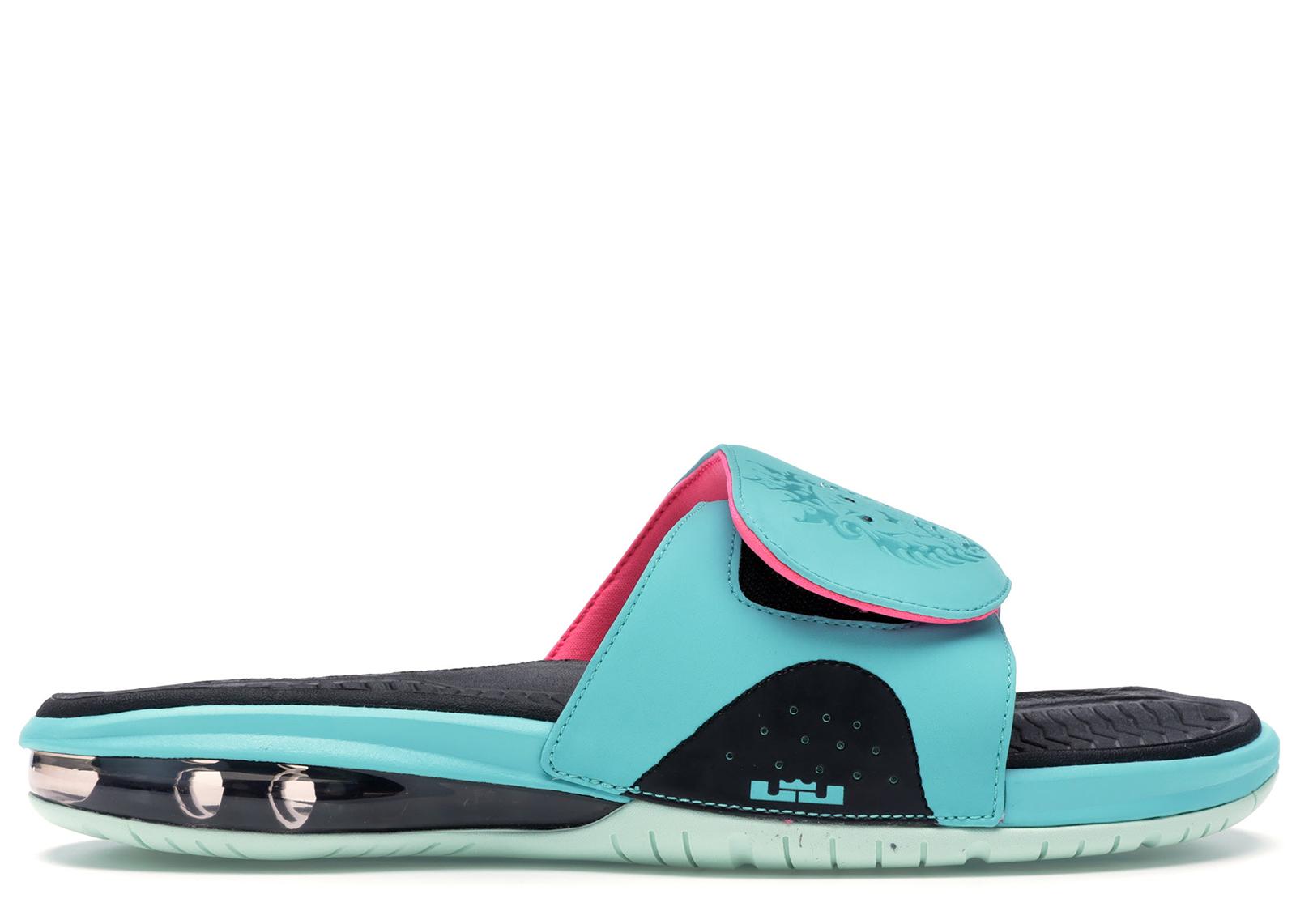 Nike LeBron Slide South Beach - 487332-400