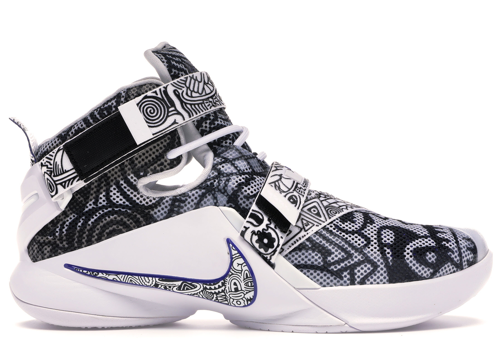 Nike LeBron Solider 9 Freegums - 810803-014