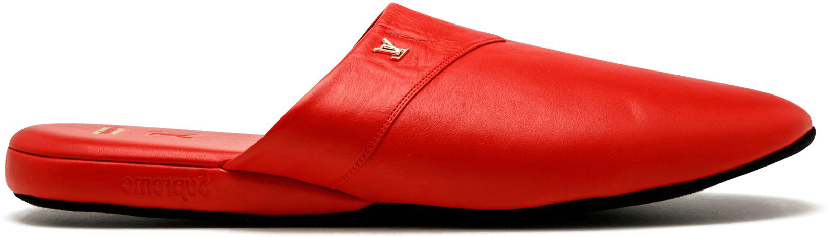 Louis Vuitton Hugh Slipper Supreme Red