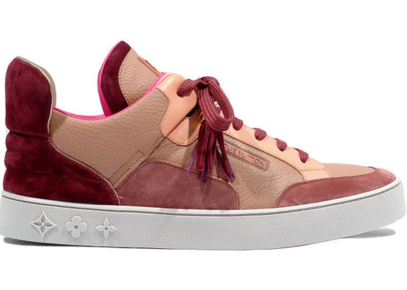 new arrival 28241 b7db0 Louis Vuitton Dons Kanye Patchwork