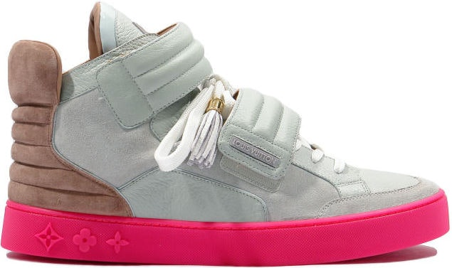 Louis Vuitton Jaspers Kanye Patchwork Grey/Pink