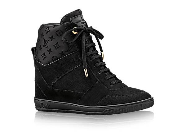 Louis Vuitton Millenium Wedge Black