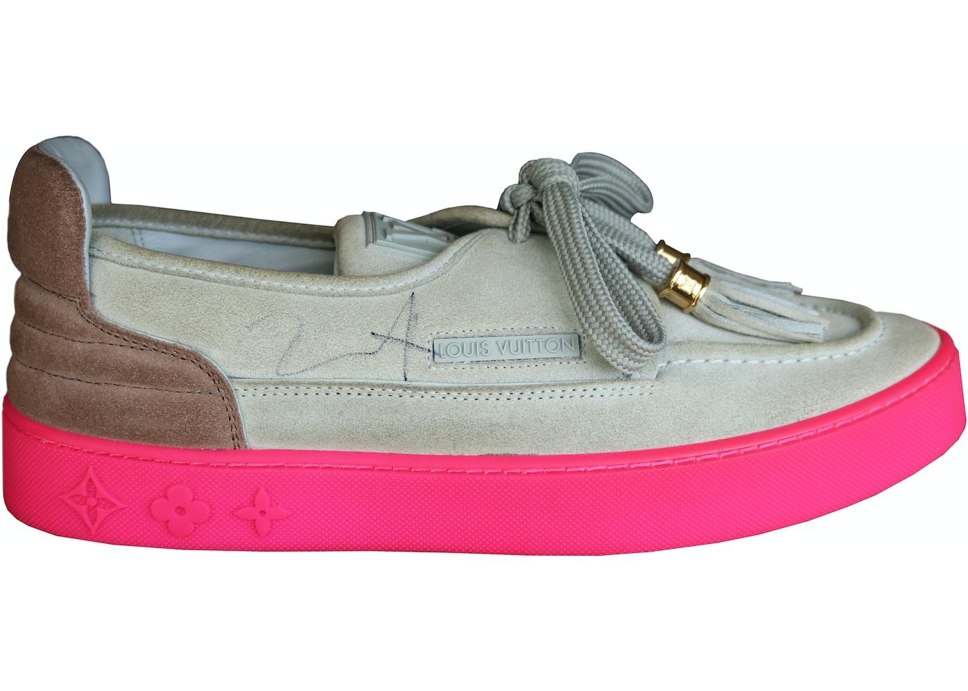 463901cd8e8 Louis Vuitton Mr. Hudson Kanye Grey Pink (Signed) - YP6U8PSC