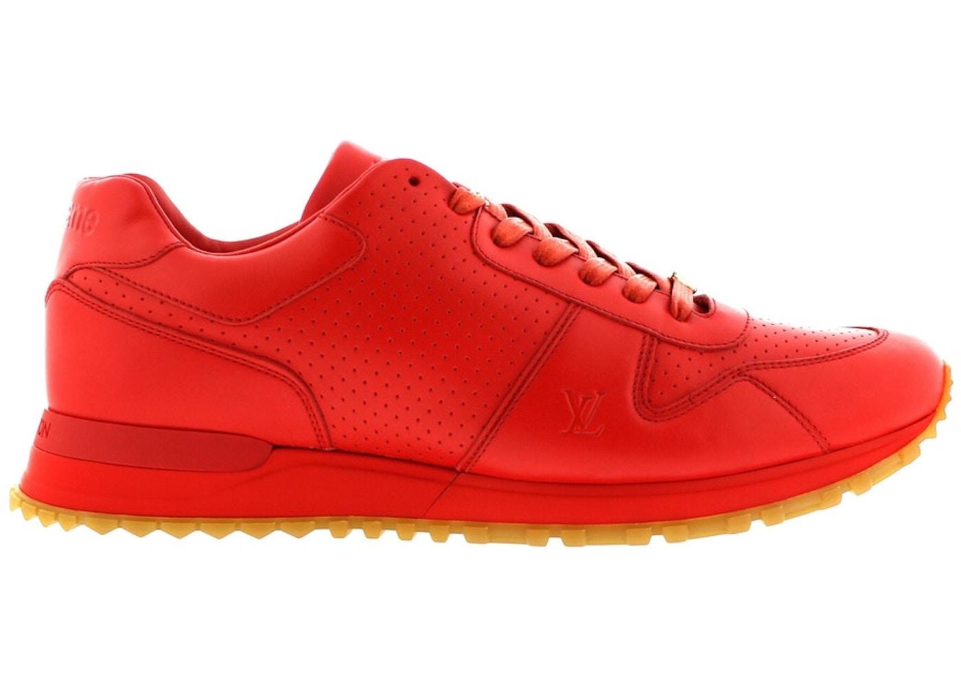 08a2c96b0cc Louis Vuitton Run Away Supreme Red Gum